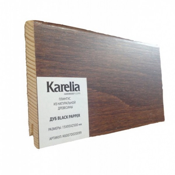 Плинтус Karelia - Дуб Black Pepper K6007D020099