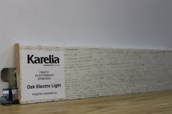 Плинтус Karelia - Дуб Electric Light K6008D020093