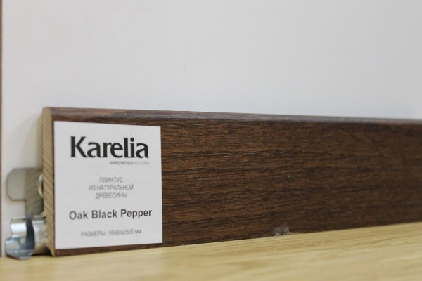 Плинтус Karelia - Дуб Black Pepper K6008D020099