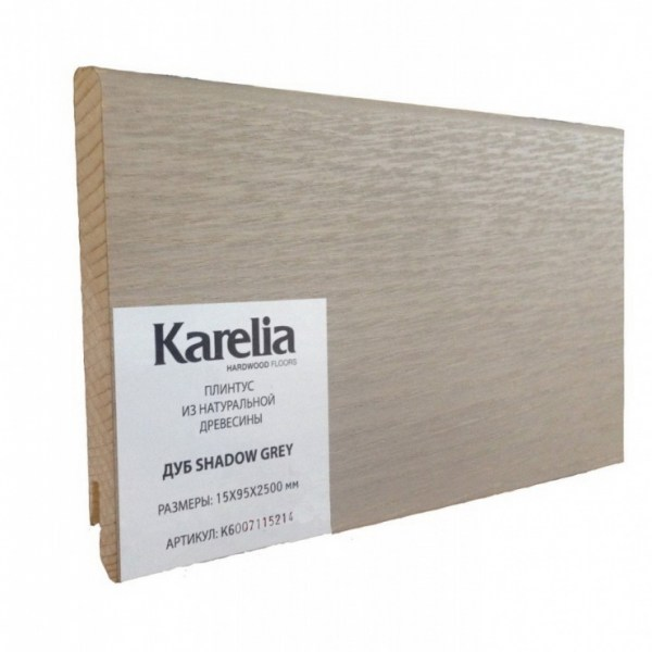 Плинтус Karelia - Дуб Shadow Grey K6007115214